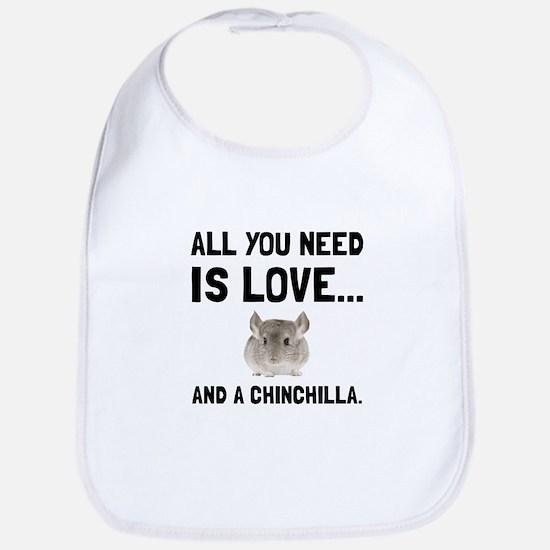 Love And A Chinchilla Bib