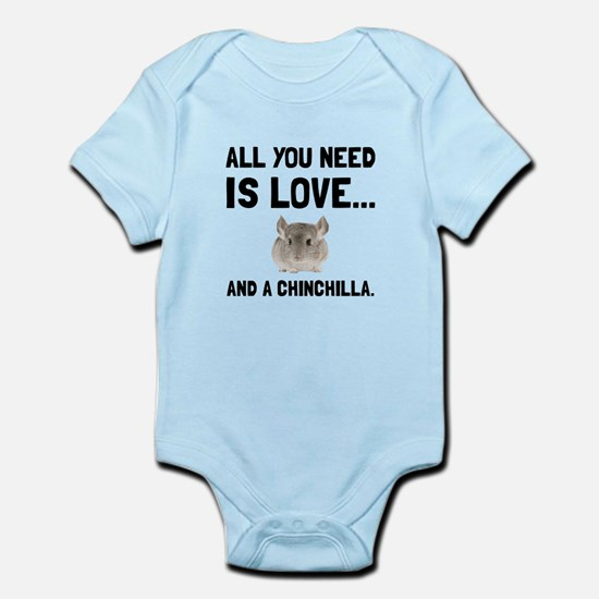 Love And A Chinchilla Body Suit