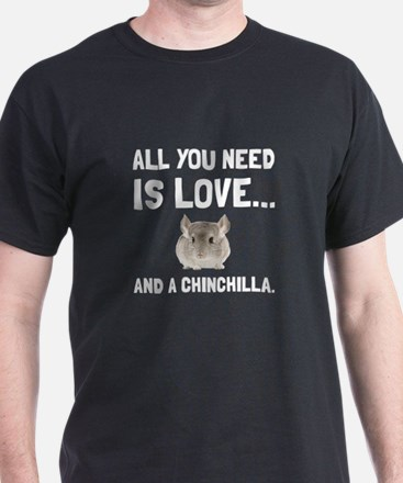 Love And A Chinchilla T-Shirt