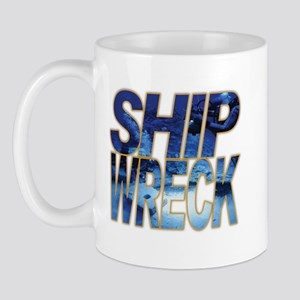 Ship Wreck Mug