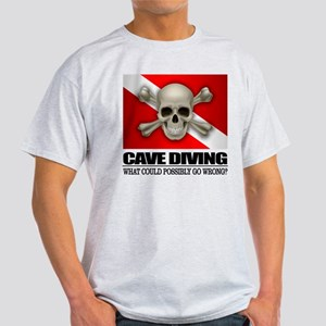 Cave Diving (skull) 2 T-Shirt