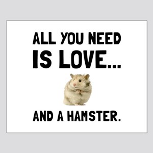 Love And A Hamster Posters