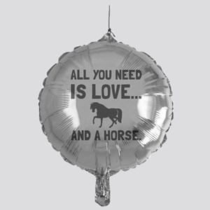 Love And A Horse Balloon
