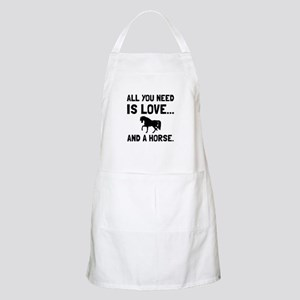 Love And A Horse Apron