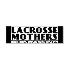 Lacrosse Mothers Car Magnet 10 x 3