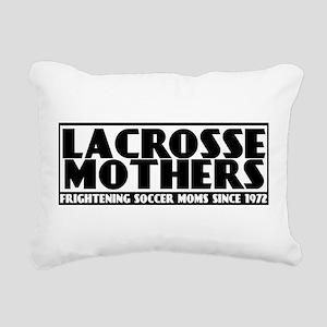 Lacrosse Mothers Rectangular Canvas Pillow