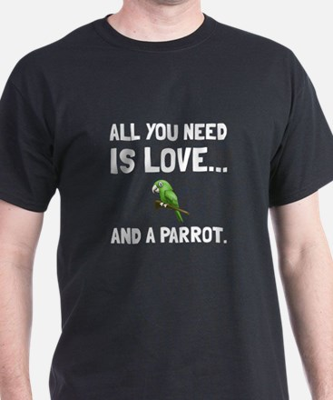 Love And A Parrot T-Shirt