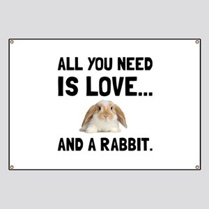 Love And A Rabbit Banner
