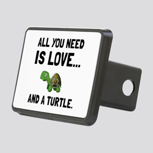 Love And A Turtle Hitch Cover