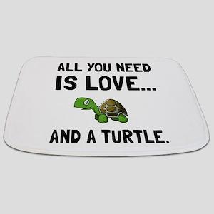 Love And A Turtle Bathmat