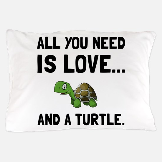 Love And A Turtle Pillow Case
