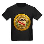 USS ALBERT DAVID Kids Dark T-Shirt