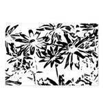 Transparent flowers Postcards (Package of 8)