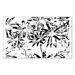 Transparent flowers Sticker