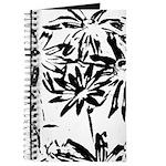Transparent flowers Journal