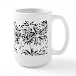 Transparent flowers Mugs
