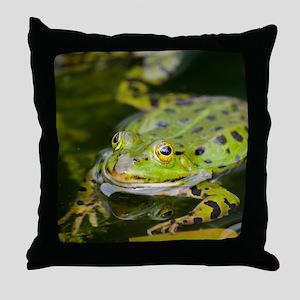 European Frog Throw Pillow