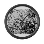 First snow Large Wall Clock