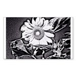 Sunflower at night Sticker