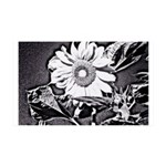 Sunflower at night Wall Decal