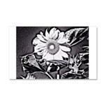 Sunflower at night Car Magnet 20 x 12