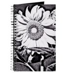 Sunflower at night Journal