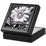 Sunflower at night Keepsake Box