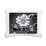 Sunflower at night Rectangular Canvas Pillow