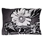 Sunflower at night Pillow Case