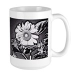 Sunflower at night Mugs