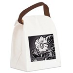 Sunflower at night Canvas Lunch Bag