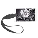 Sunflower at night Luggage Tag