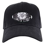 Sunflower at night Baseball Hat