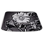 Sunflower at night Bathmat