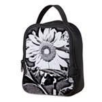 Sunflower at night Neoprene Lunch Bag
