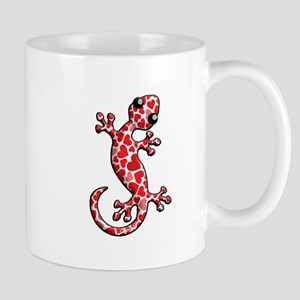 Valentine Lizard Mug