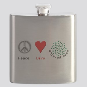 Peace Whirled Peas Flask