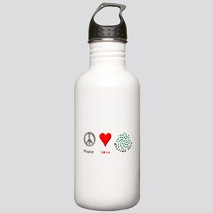 Peace Whirled Peas Stainless Water Bottle 1.0L