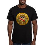 USS ALBERT DAVID Men's Fitted T-Shirt (dark)