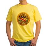 USS ALBERT DAVID Yellow T-Shirt
