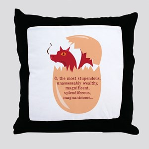 The Most Stupdendous Throw Pillow