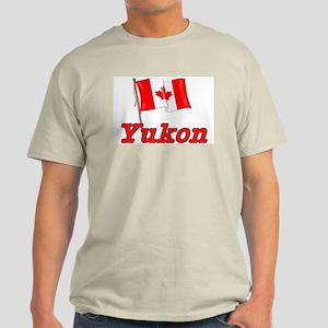 Canada Flag - Yukon Territory Light T-Shirt