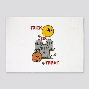 Trick Or Treat! 5'x7'Area Rug