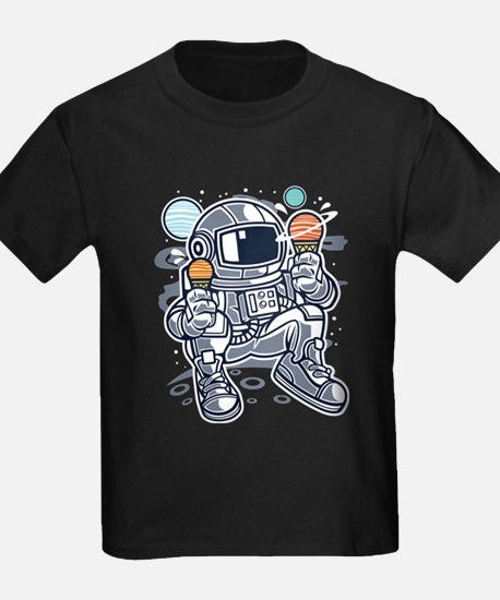 Astronaut With Ice Cream T-Shirt