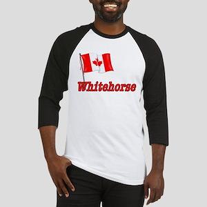 Canada Flag - Whitehorse  Baseball Jersey