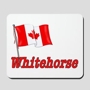 Canada Flag - Whitehorse  Mousepad