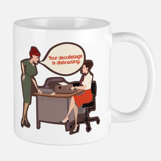Joan Holloway Decolletage Mug Mugs