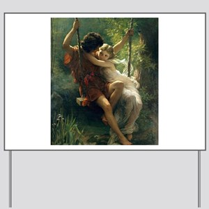 Spring of Pierre Auguste Cot Yard Sign