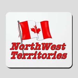 Canada Flag - Northwest Territories Mousepad
