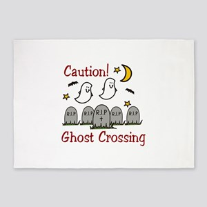 Ghost Crossing!! 5'x7'Area Rug